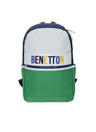 Benetton Sırt Çantası Q-055 70068 Renkli